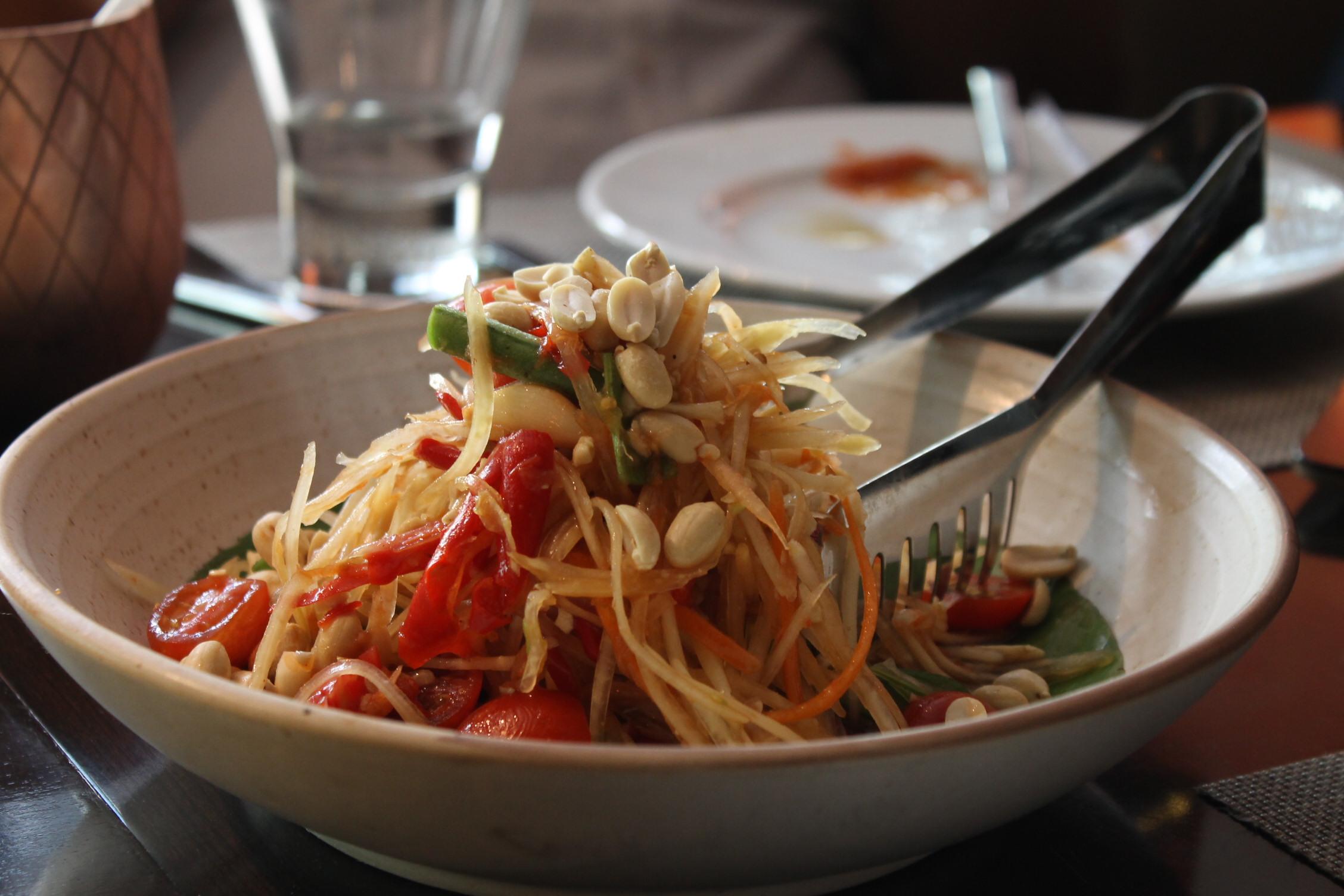 Som-Tam (Raw Papaya Salad)