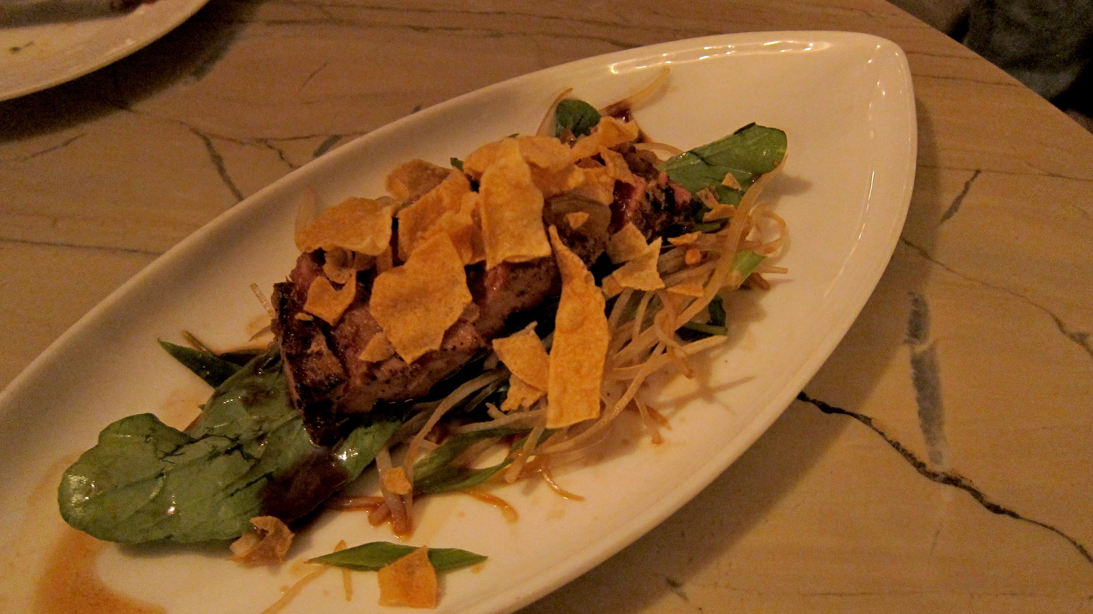Lemongrass marinated Tuna